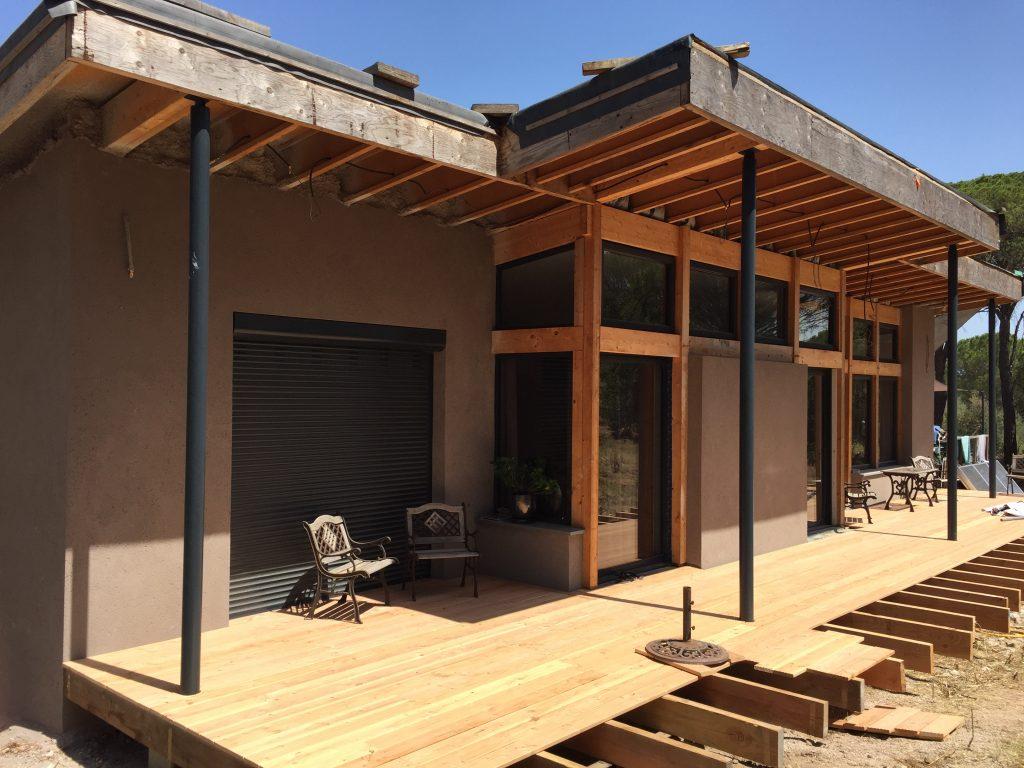construction d 39 une maison passive en b ton de chanvre sur la commune d 39 ollioules 83. Black Bedroom Furniture Sets. Home Design Ideas